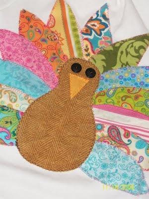 Darling turkey turtleneck!