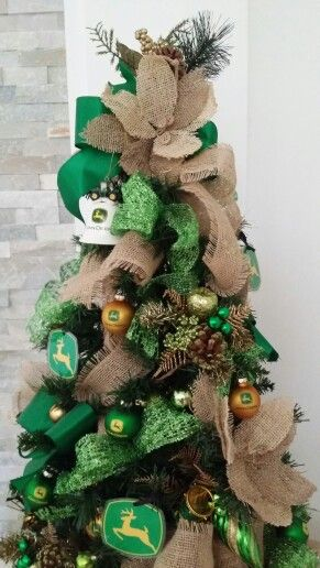 John Deere christmas tree