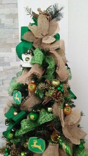 John Deere christmas tree