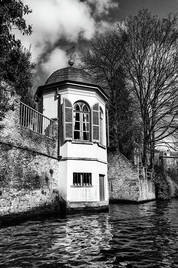 George Westermak Photograph - One Of The Picturesque View Old Belgian City Of Bruges  by George Westermak#GeorgeWestermakFineArtPhotography #travel #FineArtPrints #photography #Belgium