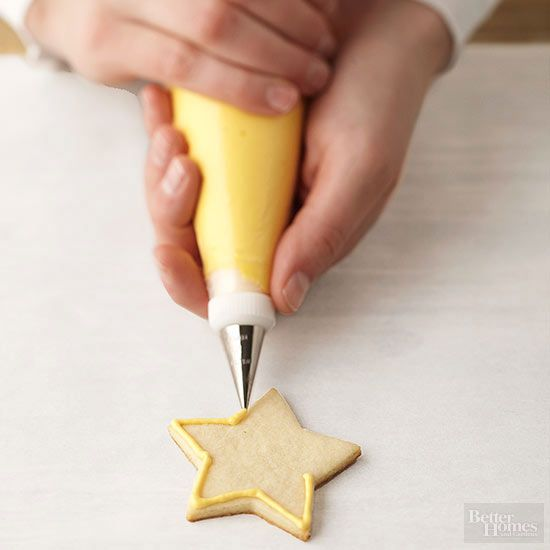 Royal icing is our secret for making perfectly decorated cookies and cakes. It dries to a smooth, hard finish.