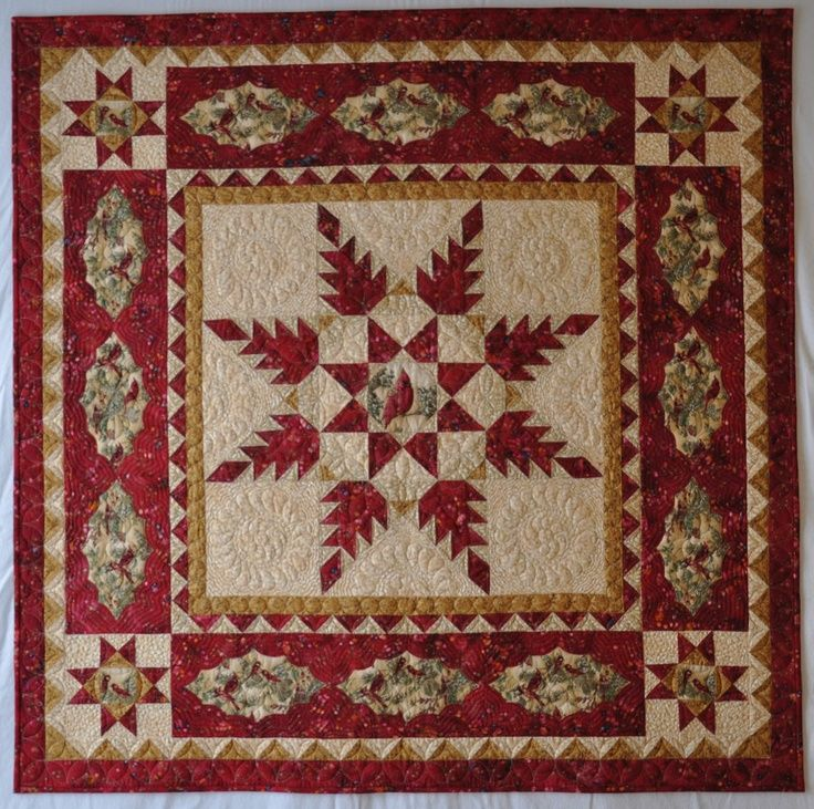 435 Best Feathered Star Quilts Images On Pinterest