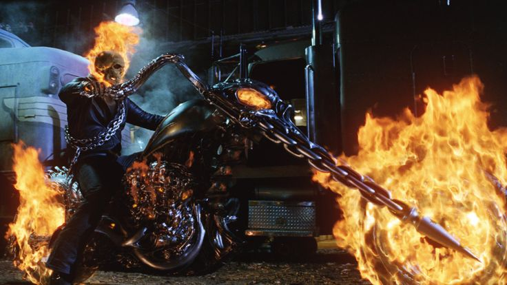 to live on the wind with Harley-Davidson: Ghost Rider's Harley ...