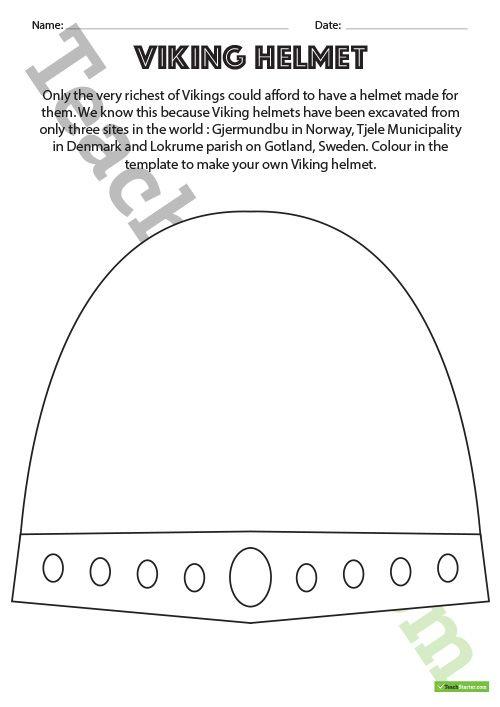 viking helmet and shield worksheets teaching resource history teaching resources pinterest. Black Bedroom Furniture Sets. Home Design Ideas