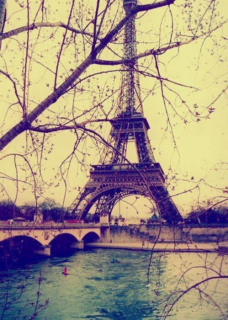 Awesome view of Eiffel tower-