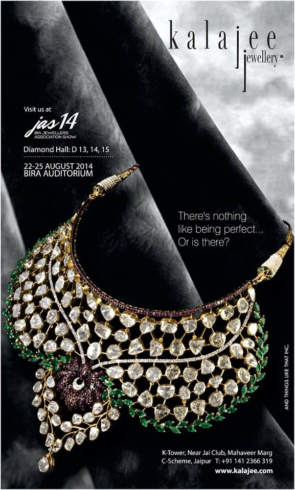 Kalajee Jewellery Jaipur at the Jewellers Association Show! Special bridal edition.