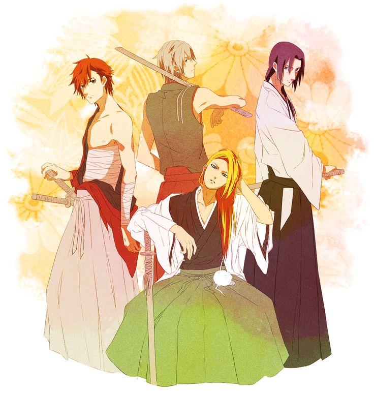 Cool! Sasori, Deidara, Itachi and Hidan cosplayed as a samurai