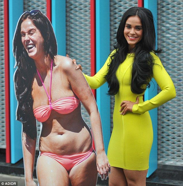 Geordie Shore star Vicky Pattison shows off her weight loss.