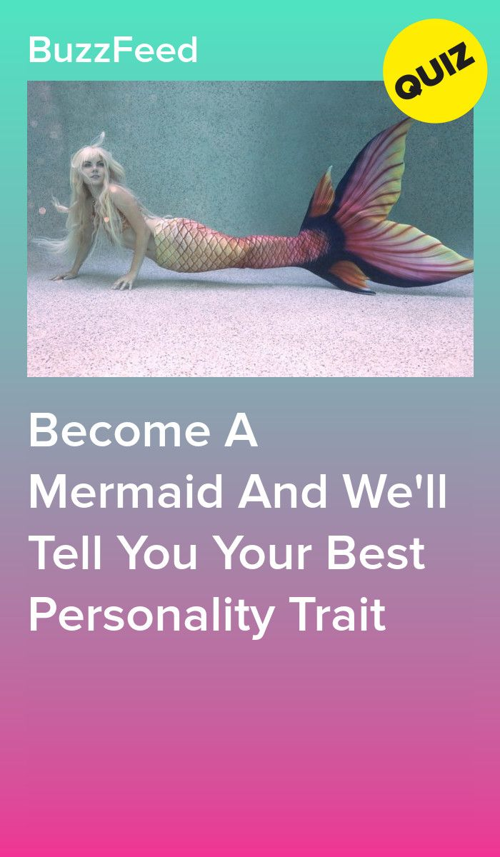 Become A Mermaid And We'll Tell You Your Best Personality Trait