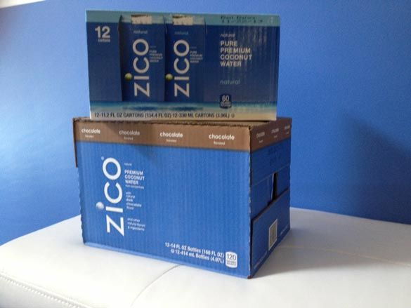 It's a #superfood #giveaway! Enter to win two cases of ZICO coconut water!