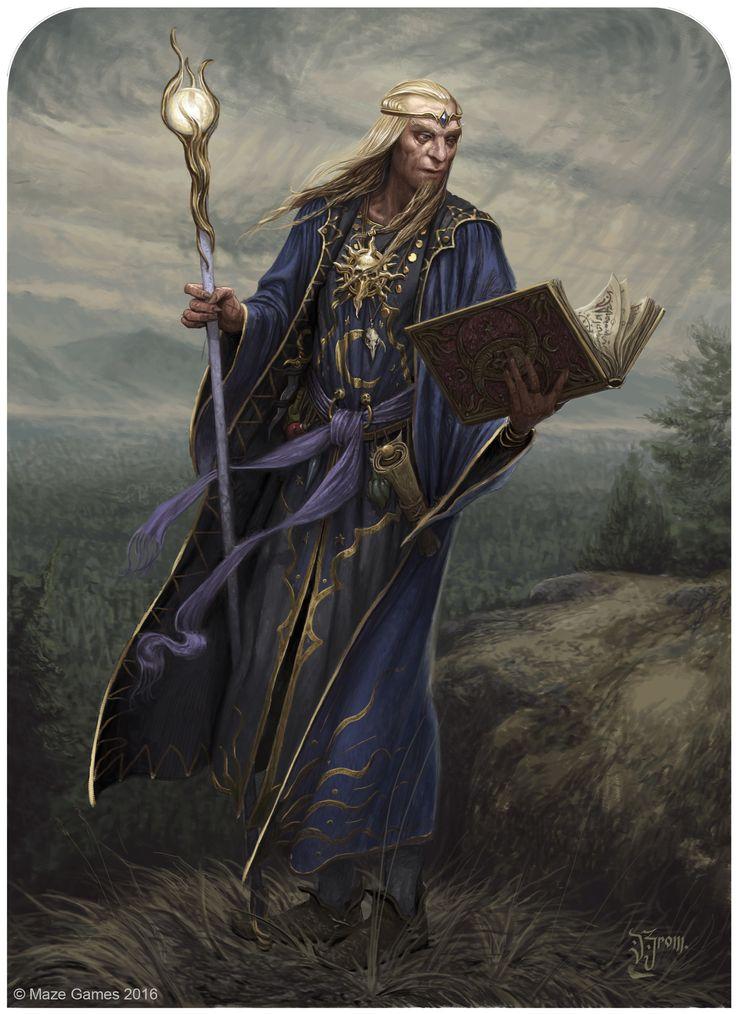 ArtStation - ORCQUEST Enchanteur, Daniel Zrom