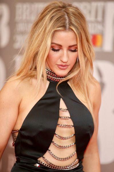 Ellie Goulding - Brit Awards 2017    i just like everything about her