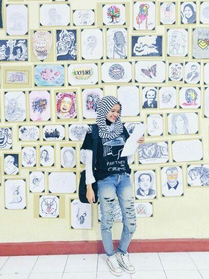 Hijab ripped jeans boyish