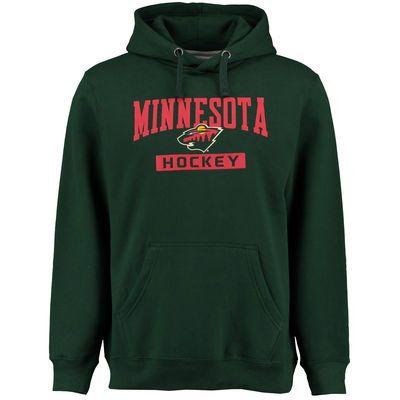 a23677ee3 Men s Minnesota Wild Rinkside Green City Pride Pullover Hoodie ...
