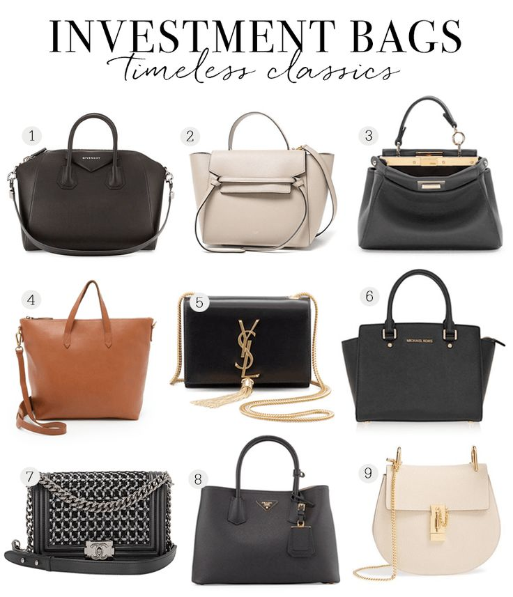 Bags Worth the Investment | Sunday Chapter