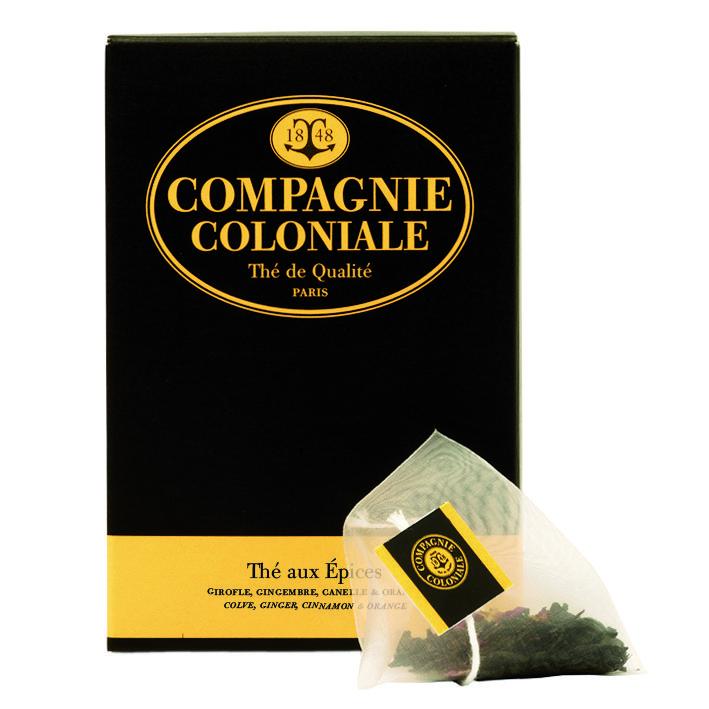 Thé aux épices - Compagnie Coloniale - Etre Gourmand
