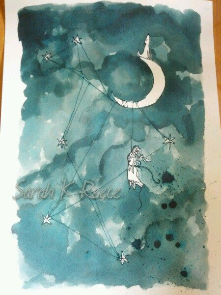 Ink Painting – From thestars
