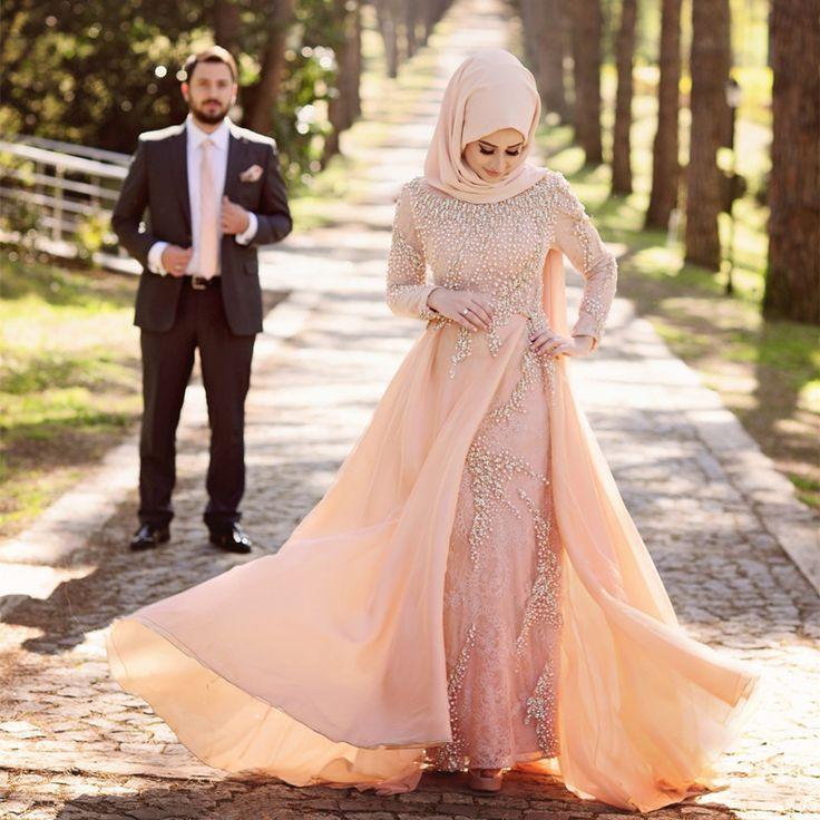 Saudi Arab Style Dubai Kaftan 2016 Latest Hijab Long Sleeve Lace Evening Dress Party Dresses Fashion Night Gowns For Middle East(China (Mainland))