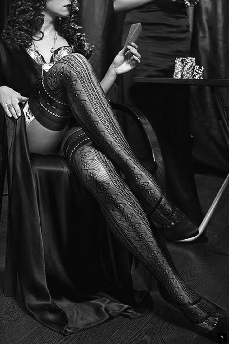 Pantyhose fashion photography
