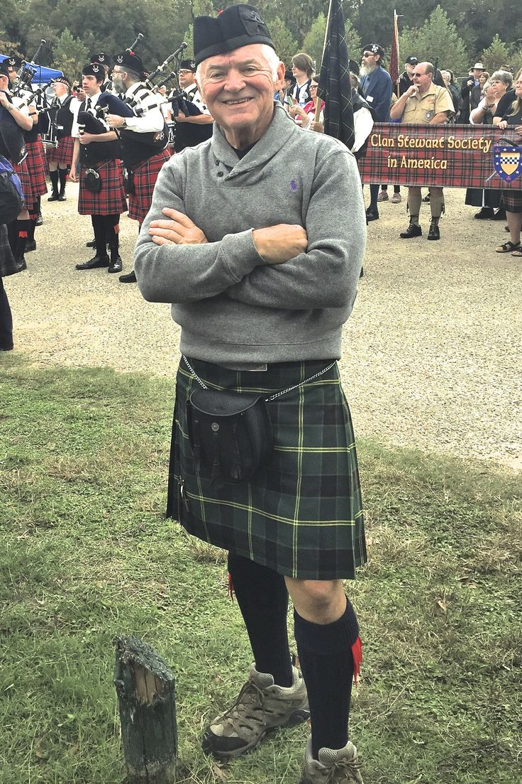 USAKilts semi-traditional PV in US Army Tartan with Rob Roy leather sporran and glengarry bonnet at the Scottish Games in Salado, TX Nov 14 2015