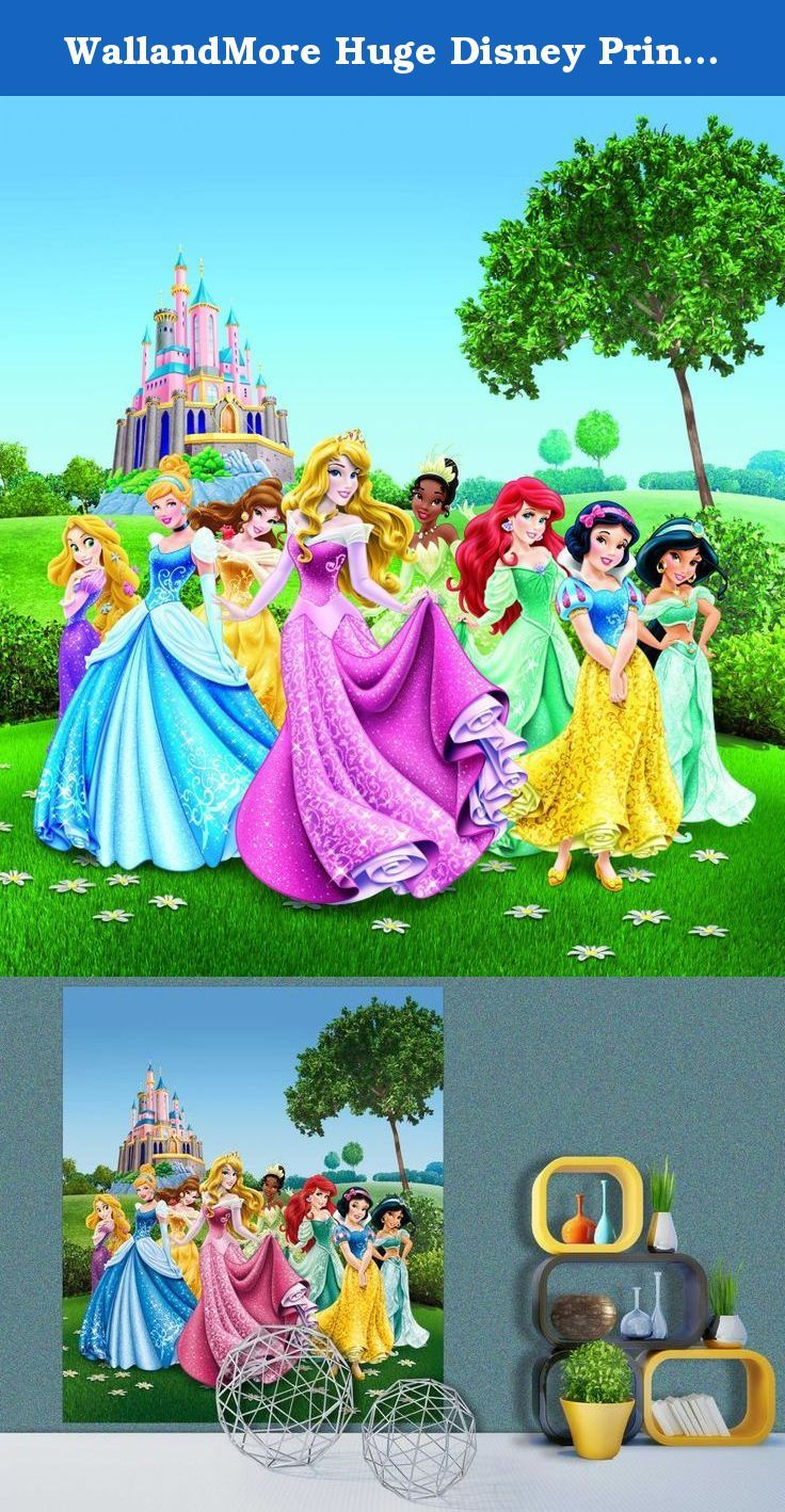 1000 ideas about disney princess decals on pinterest for Disney princess mural asda