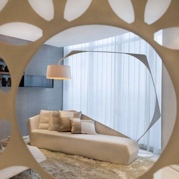 SAOTA Stefan Antoni Olmesdahl Truen Architects And OKHA Interiors Have Designed A Three Level Penthouse In Johannesburg South Africa