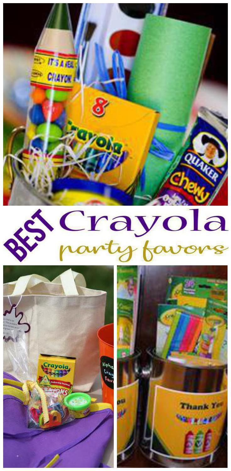 crayola party favors find amazing crayola party favors for girls and boys find goodie bag ideas toys candy and more cool ideas for birthday parties
