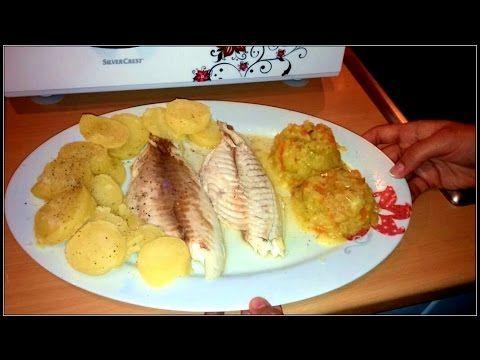 Receta de Dorada a la Sal con patatas y verduras Monsieur Cuisine Lidl Español Silvercrest Ingredientes para la receta *Para preparar la dorada: - 1 Dorada d...