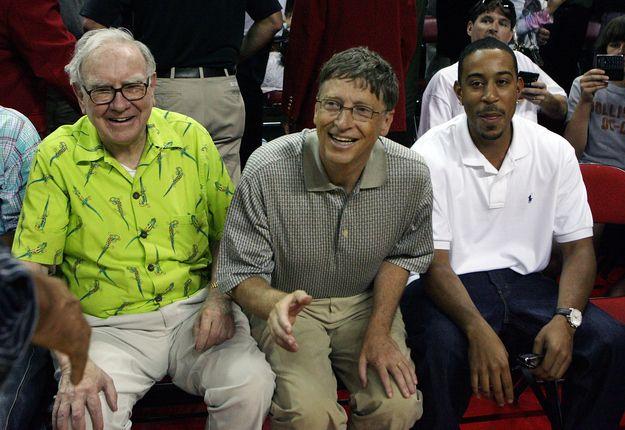 Warren Buffet, Bill Gates, and Ludacris: