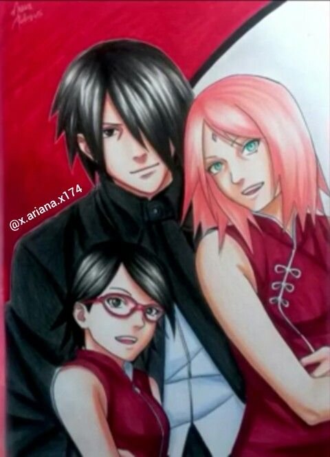 the uchihas credit mayara rodrigues youtuber naruto