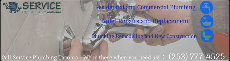 Service Plumbing & Systems is also ready and equipped to take care of your New Tacoma Commercial Plumbing problems as well. Including, hidden Leaks, malfunctioning toilets, running toilets, leaky faucets, low water pressure, water temperature or slab leaks. Call For Your Appointment Today! (253) 777-4525 Or Visit - https://plumbertacoma.net/