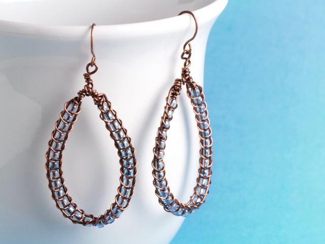 562 best Jewelry Tutorials - Earrings images on Pinterest | Diy ...