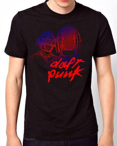 iOffer: New T-Shirt Daft Punk Men Short Sleeve for sale