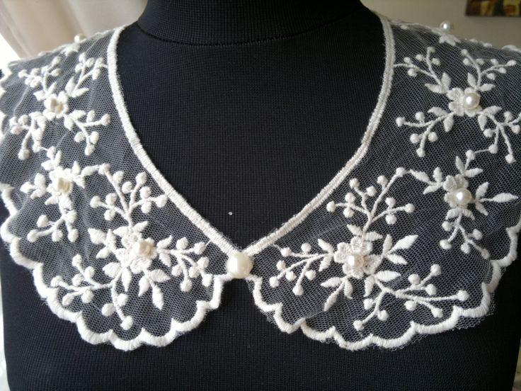 vintage collar http://www.finecrochetedjewelry.blogspot.ro/