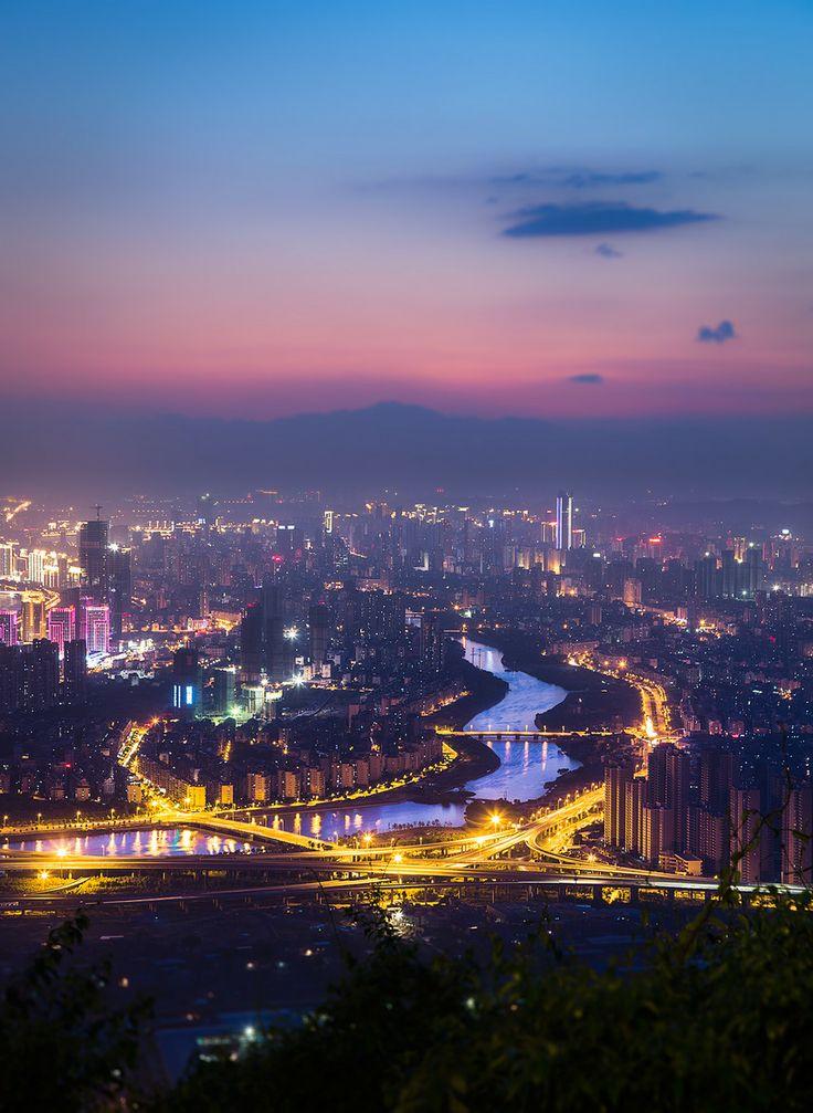 Dusk - Fuzhou, China