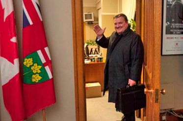 Former Finance Minister Jim Flaherty suffered from a skin disease which was treated with prednisone