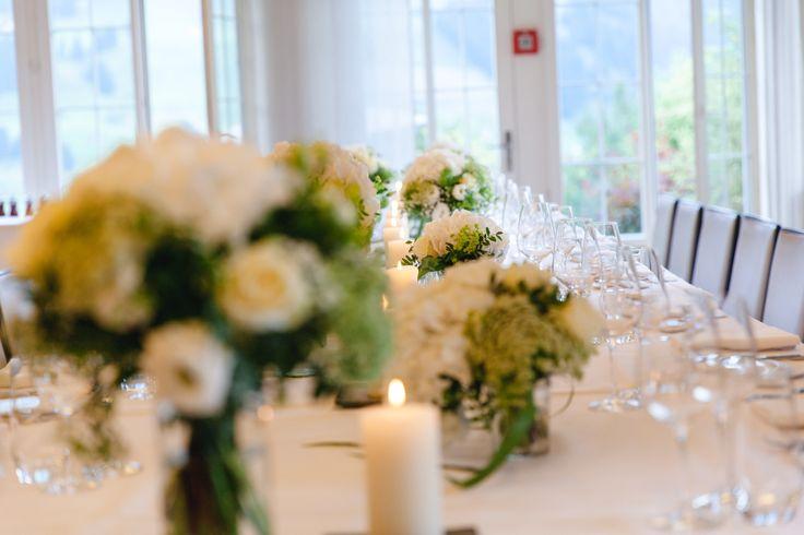 Centerpiece - wedding in Switzerland - wedding planner: Laura Dova Weddings - www.lauradovaweddings.com Photography by Lucia Fatima Photography