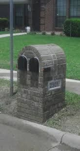 Best 25 Brick Mailbox Ideas On Pinterest Brick Yards