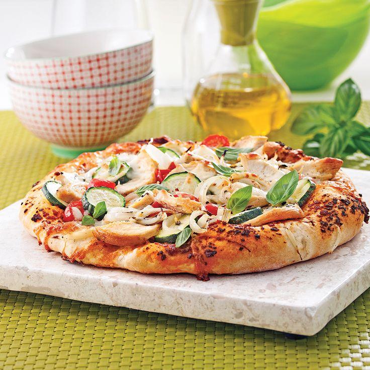 La pâte à pizza maison est simple à préparer et se congèle facilement! Faites-en une réserve!