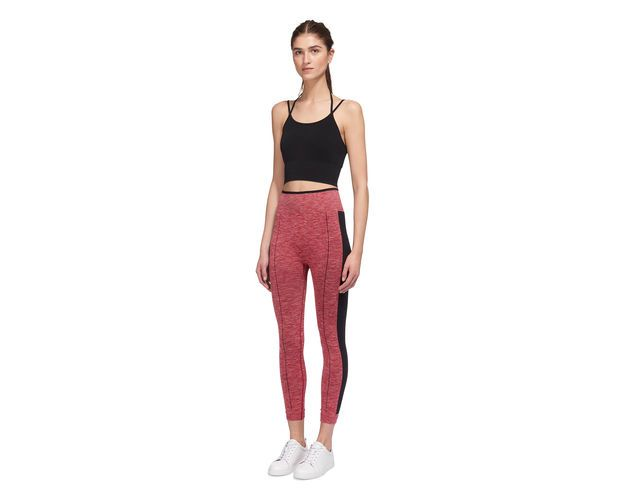 Stripe Stretch Legging, in Pink on Whistles
