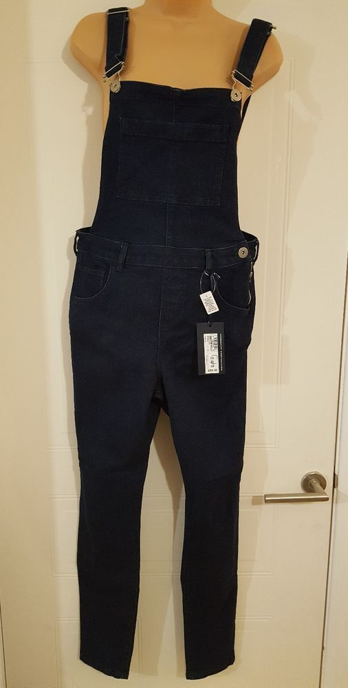BNWT M&S Limited Collection Blue Denim Ladies Dungarees Size 14 straight leg -  in Clothes, Shoes & Accessories, Women's Clothing, Jumpsuits & Playsuits | eBay!
