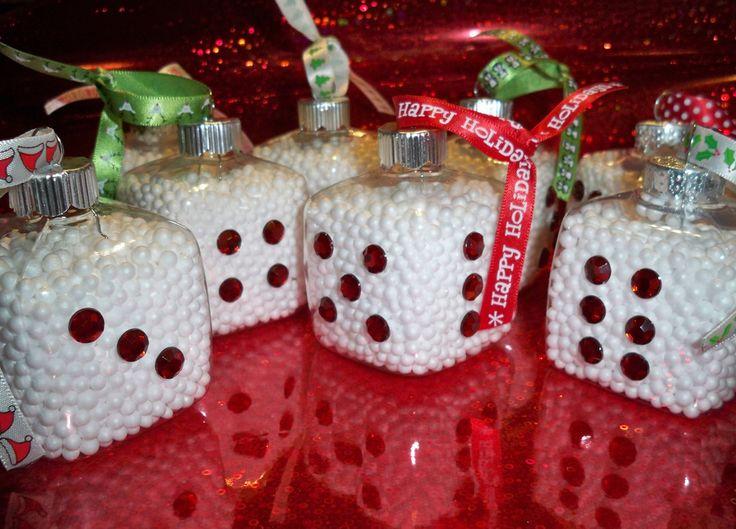 Bunco Dice Ornament (3)