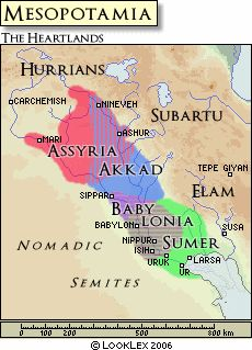 The history of Mesopotamia runs strong from the middle of the 4th millennium BCE, lasting a good 3,000 years.