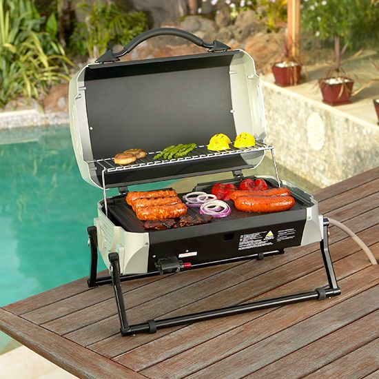 Outdoors Domain - Cruiser BBQ, $189.95 (http://www.outdoorsdomain.com.au/gasmate-cruiser-bbq/)  #outdoorliving #gasmate #bbq #stainless #grill
