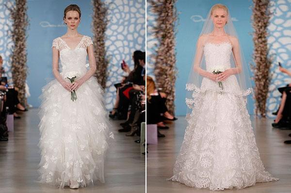 свадебные платье #wedding #oscar_de_la_renta #dresses_2014