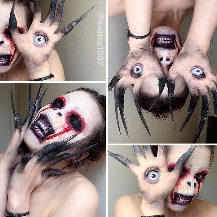 Les étonnants maquillages de Saida Mickeviciute - https://www.2tout2rien.fr/les-etonnants-maquillages-de-saida-mickeviciute/
