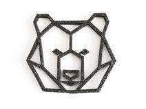 geometric bear head - Google Search