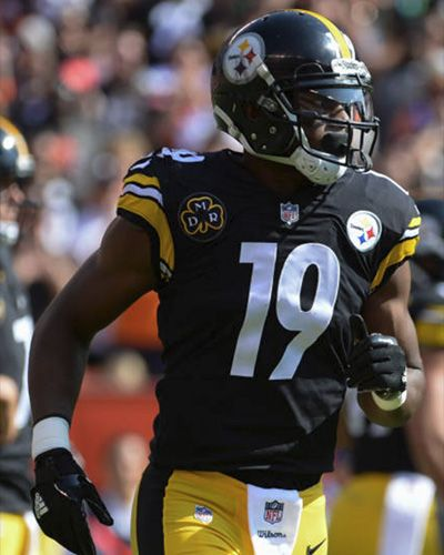 8df84375756 JuJu Smith-Schuster Pittsburgh Steelers Football