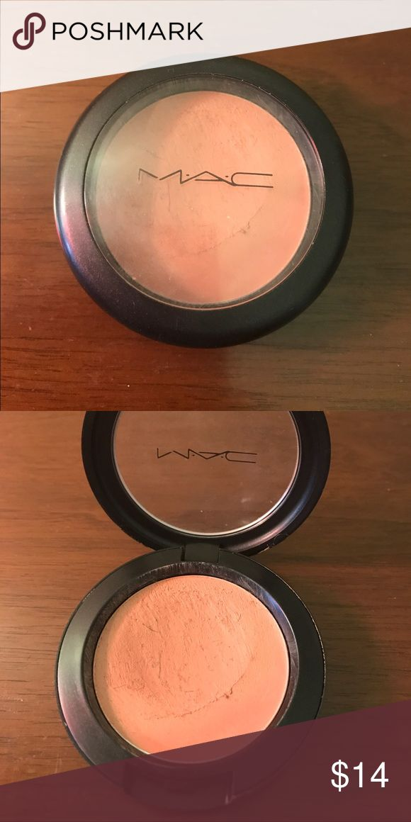 Mac cream blush in ladyblush Lightly used. There are some brush bristles stuck in it. Make me an offer. Bundle and save $ Makeup Blush