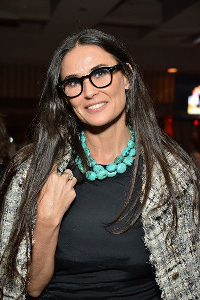 Demi Moore and Ashton Kutcher | celebs support yes event in this photo demi moore demi moore attends ...